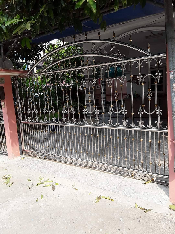 ร้านรับทำประตูรั้วสแตนเลสนนทบุรี